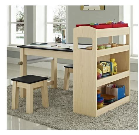 art desk with storage kids kids activity desk table furniture chair storage play