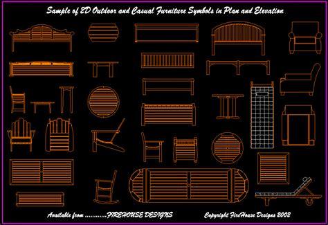 cad 2d furniture