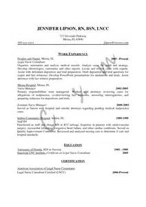 Bsn Resume Template by Bsn Nursing Resume Sales Nursing Lewesmr