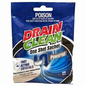 Drain Clean 60g One Shot Crystals