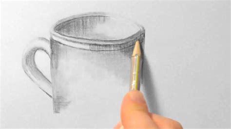 tasse zeichnen im zeitraffer cup drawing  fast motion
