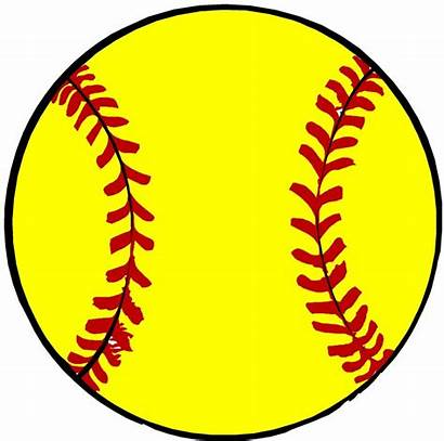 Softball Clip Clipart Ball Draw Clipartion Frame