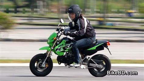 Review Kawasaki Ksr Pro by Kawasaki Ksr Pro 110 Feature Review Bikebd