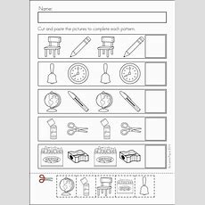 1000+ Images About Let's Make Patterns In K On Pinterest  Worksheets, Math Literacy And Abs
