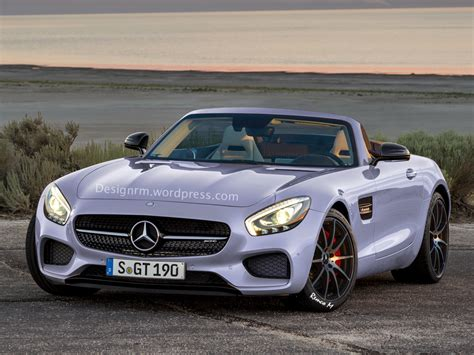 Mercedes-amg Gt Roadster Already Rendered