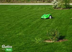 Tondre La Pelouse Sans Ramasser : tondre la pelouse sans effort sans bruit et sans tre pr sent ~ Melissatoandfro.com Idées de Décoration