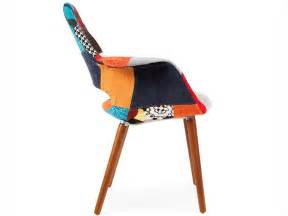 Chaise Design Eames Patchwork by Eames Organic Chair Patchwork