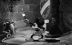 gif vintage mickey mouse Halloween skeletons vintage ...