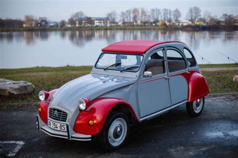 Fully-restored Authentic Red/gray Citroen 2cv Dolly For