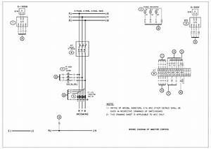 Draw Electrical Panel Power And Control Drawing Autocad By