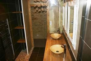 Salle De Bain Rénovation : r novation salle de bains style n o classique renoveo ~ Nature-et-papiers.com Idées de Décoration