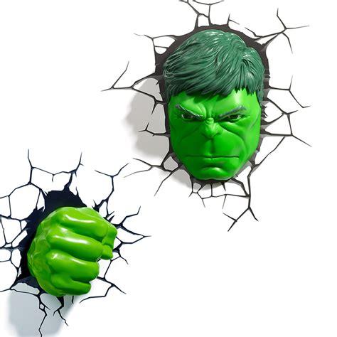 avengers alliance hulk mask modeling 3d wall l creative