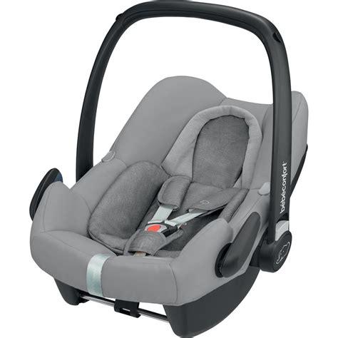 siege bebe auto reglementation siège auto coque rock de bebe confort au meilleur prix sur