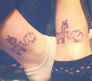 Cute Elephant Tattoo Designs Women