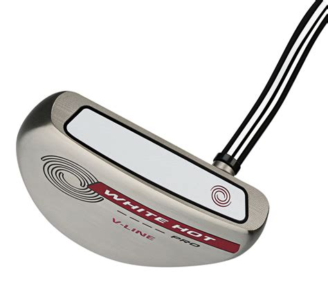 ODYSSEY WHITE HOT PRO 2.0 V-LINE PUTTER JUMBO GRIP ...