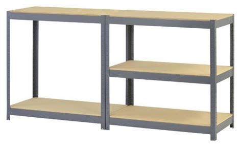 edsal  shelf steel storage rack    xd  menards