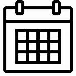 Calendar Icon Vector Date Clipart Yearly June