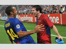 Thierry Henry Ronaldo is Great, But Messi is Better