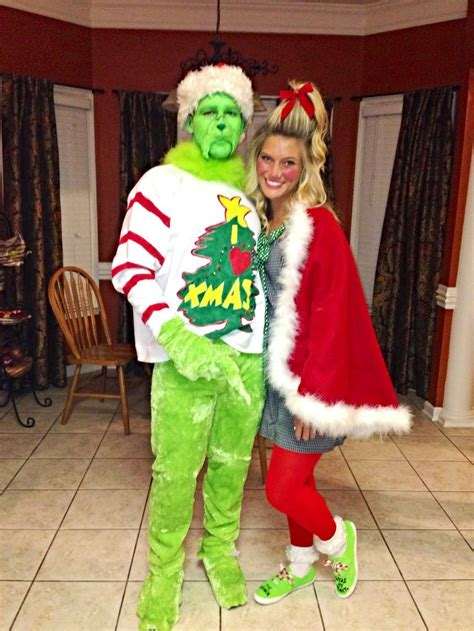 Diy Grinch And Cindy Lou Who So Cute! Christmas