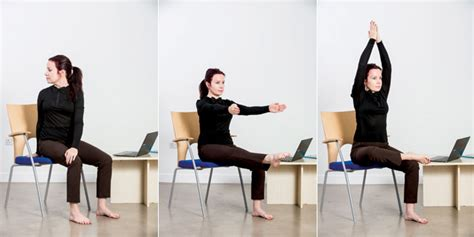 yoga at your desk yoga poses at a desk to improve posture video what 39 s on