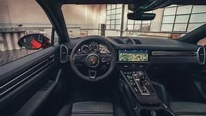 Porsche Cayenne Turbo Coupe 2019 4K Interior Wallpaper