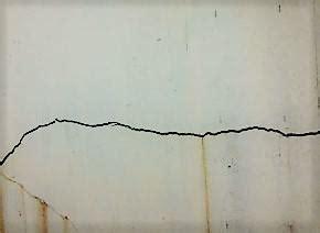 Crepe Sul Soffitto by Crepe Orizzontali Nei Muri Da Cosa Dipendono Estroso