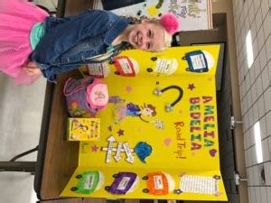 ava jackson wins  place  ms reading fair