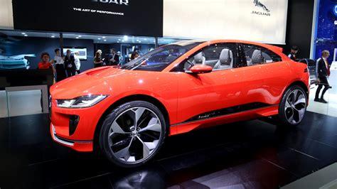 Jaguar I Pace Concept Makes The Rounds In Geneva London