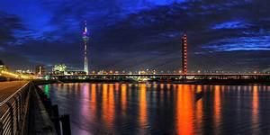 Poco In Duisburg : skyline von mlheim an der ruhr in hinter glas als wandbild ~ Orissabook.com Haus und Dekorationen
