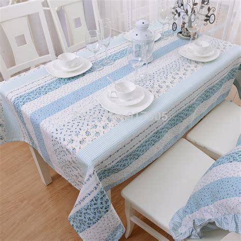 bright table l light blue gingham tablecloths blue