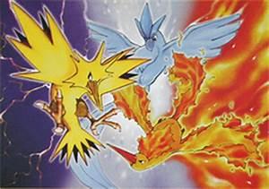 Legendary birds - Bulbapedia, the community-driven Pokémon ...
