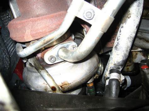 turbo oil leak thread