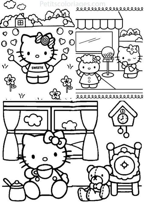 140 dessins de coloriage hello 224 imprimer