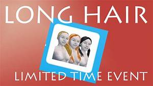 Sims Freeplay | Long Hair Event | Limited Time Event ...