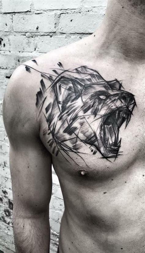 Die Besten 25 Bär Tattoos Ideen Auf Pinterest Plus Epos