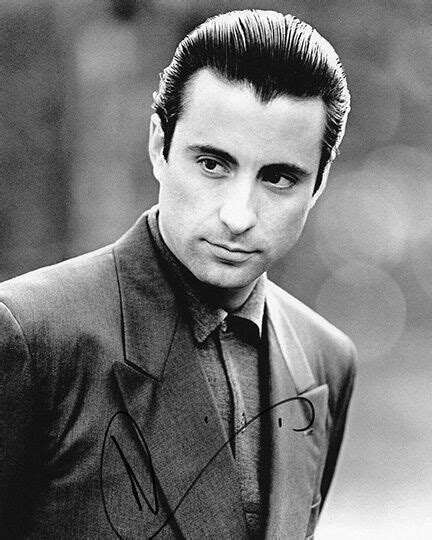 Andy Garcia, The Godfather, Internal Affairs, signed 10x8