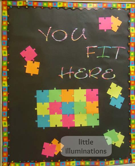 """6 letter answer(s) to wall decoration. little illuminations: 14 """"Must-See"""" Sunday School Bulletin Boards, Doors and More!"""