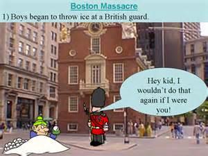 Massacre Boston Tea Party