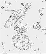 Coloring Pages Space Solar System Planets Comets Colouring Printable Sheets Getdrawings Getcolorings sketch template