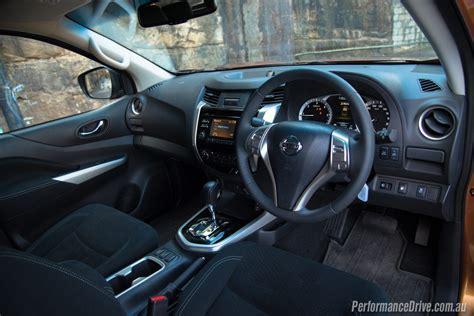 nissan navara interior 2016 nissan navara st king cab 2 3dtt review video