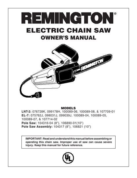 59 Remington Chainsaw Replacement Chain, REMINGTON