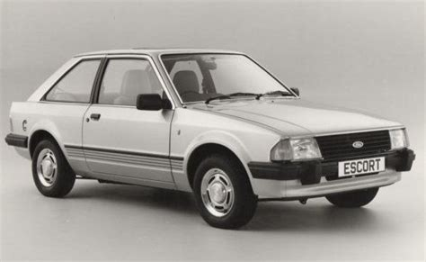 Ford (europe) - Escort Mark 3 III (1980-86)