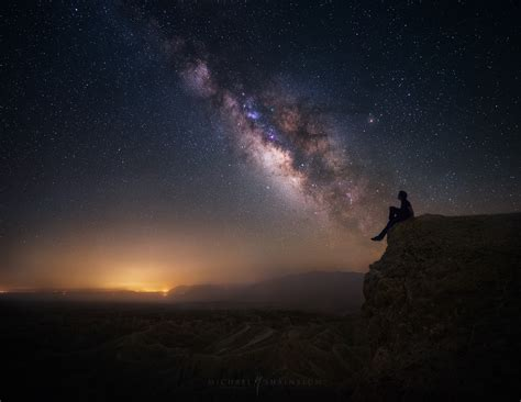 California Milky Way Photography Night Sky And