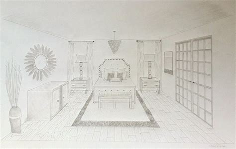 point perspective interior google search art