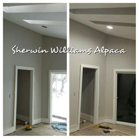 sherwin williams alpaca sw 7022 day and paint