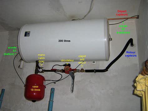 montage ballon eau chaude installation ballon d eau chaude question plomberie