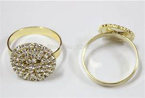 free shipping wholesale 20pcs lot rhinestone napkin ring With wedding napkin rings bulk