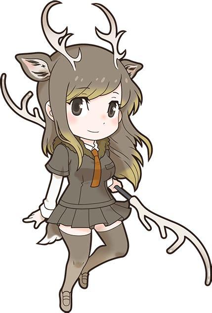 yezo sika deer japari library  kemono friends wiki