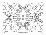 Curl Coloring Adult Abstract sketch template