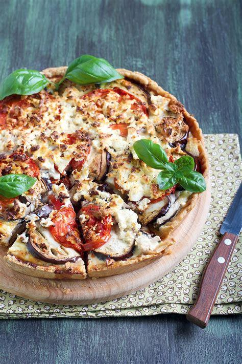 recette tarte aux legumes  sardines marie claire